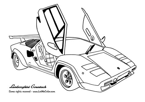 sports cars coloring pages - Free Large Images