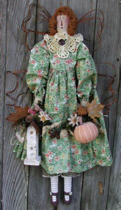 Primitive, Country Doll Patterns - Janie's Angel Babies